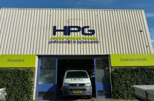 contact pagina HPG Hoveniers BV