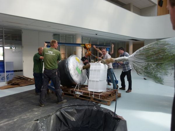 Interieurbeplanting scholencomplex for 3d tekenprogramma