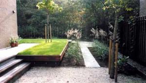 aanleg particuliere tuin