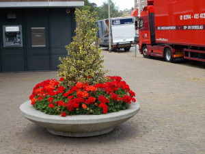bloembak openbare ruimte
