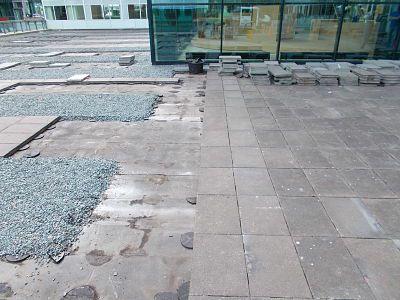 Herinrichting dakterras kantoor amsterdam for Tegels voor dakterras
