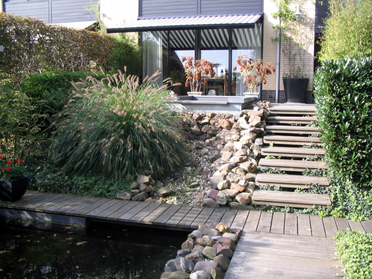 Waterval In Tuin : Inspiratietuinen u e genieten van je loungetuin