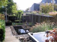vijver tuin Rotterdam, HPG Hoveniers