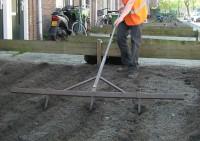 reconstructie plantvakken: grondwerk