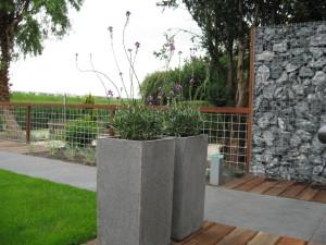 tuinaanleg met natuursteen