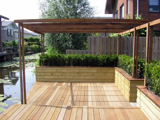 Waarom een pergola in uw tuin hpg hoveniers legt het u uit for Foto op hout maken eigen huis en tuin