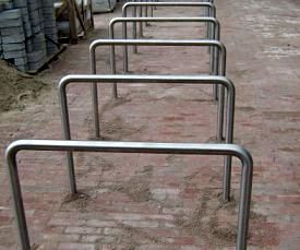 fietsenrekken,nietjes