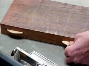 lamellen als houtverbinding