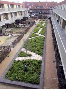 onderhoud binnentuin Leiden