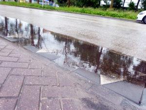 wateroverlast bestrijden in de openbare ruimte
